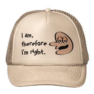 Elegante haga frente al gorra
