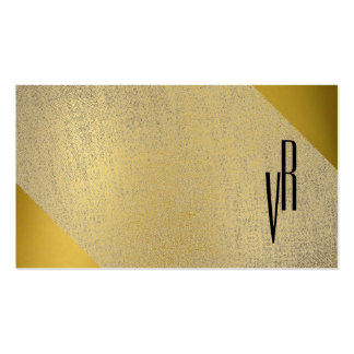 Elegante moderno simple del monograma profesional tarjetas de visita