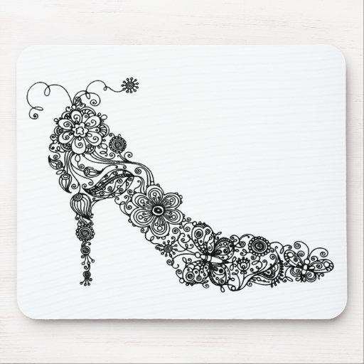 ~ elegante Mousepad del zapato