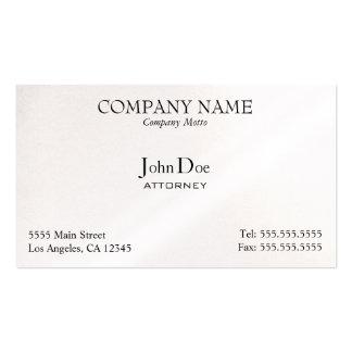 Elegante profesional tarjeta de visita