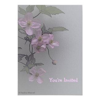"""Elegantes magníficos del © P Wherrell palidecen - Invitación 5"""" X 7"""""""
