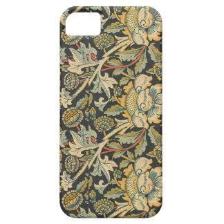 Elegantes Vintages Blumen iPhone SE/5/5s Case