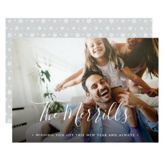 Elegantly Penned | Happy New Year Photo Card