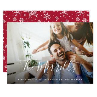 Elegantly Penned | Holiday Photo Card
