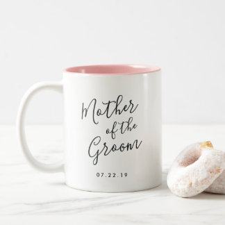 Elegantly Penned | Mother of the Groom Two-Tone Coffee Mug