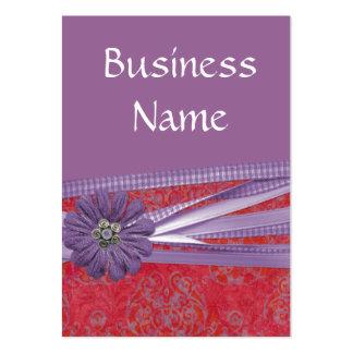 Elegantly Purple Business Cards