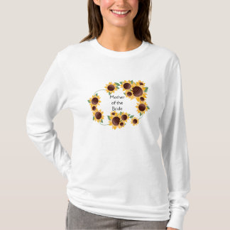 ElegantSunflower-Mother of the Bride T-Shirt