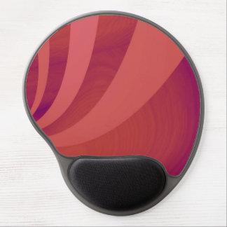 Eleganza 07 red gel mouse pad