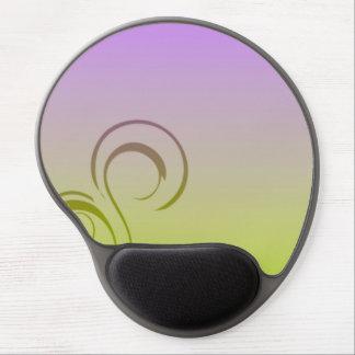 Eleganza 08 green gel mouse pad