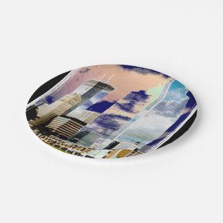Elegent Wedding paper plates Minneapolis downtown