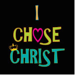 Elegí a Cristo Escultura Fotografica