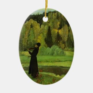Elegía de Mikhail Nesterov- Músico ciego Adorno De Reyes