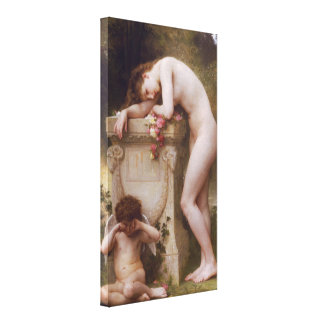 Elegía de William-Adolphe Bouguereau Impresiones En Lona