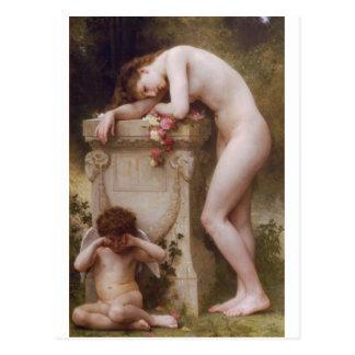 Elegía de William-Adolphe Bouguereau Tarjetas Postales