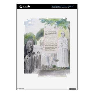 """""""Elegía escrita en un cementerio del país"""", diseño iPad 3 Skin"""