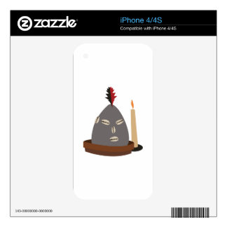 Elegua Statue iPhone 4 Decal
