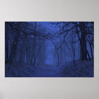 Elegy (Winter/Night) Poster