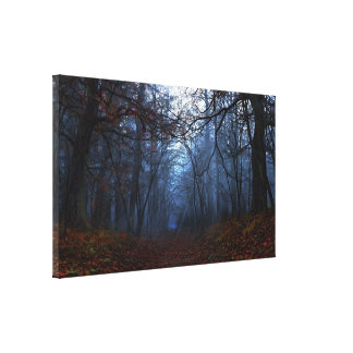 """Elegy"" Wrapped Canvas Canvas Print"