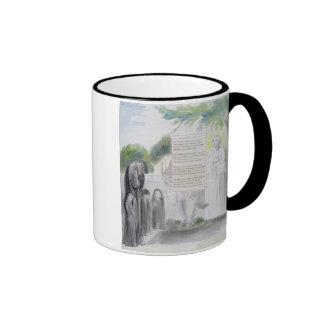 'Elegy written in a Country Church-Yard', design 1 Mugs
