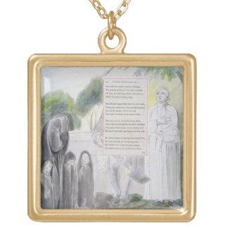 'Elegy written in a Country Church-Yard', design 1 Jewelry