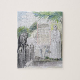 'Elegy written in a Country Church-Yard', design 1 Puzzle