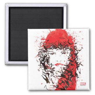 Elektra - Blood of her enemies 2 Inch Square Magnet