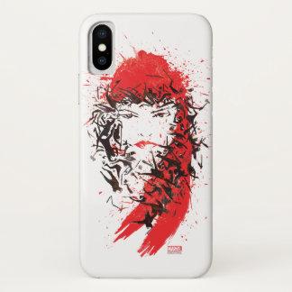 Elektra - Blood of her enemies iPhone X Case