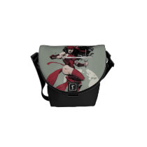 Elektra Traveling The World Courier Bag