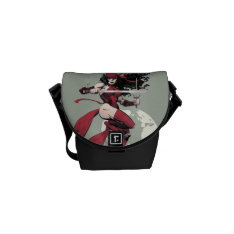 Elektra Traveling The World Courier Bag at Zazzle