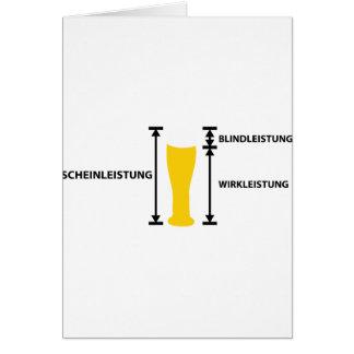 elektriker greeting card