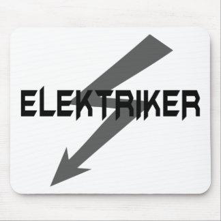 elektriker icon mouse pad
