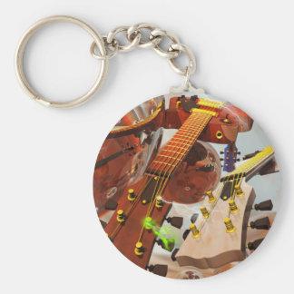 Elektro gitar llavero