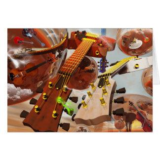 Elektro gitar tarjetas