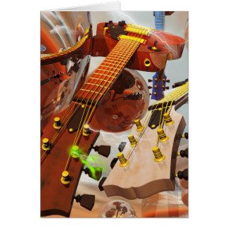 Elektro gitar tarjeta