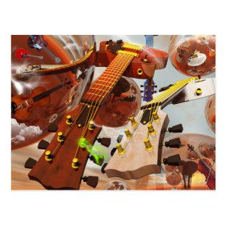 Elektro gitar postales