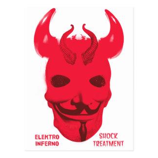 Elektro Inferno Shock Treatment Postcard