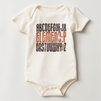 Elemeno-P! Baby Bodysuit