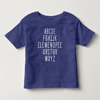 ELEMENOPEE Alphabet Toddler T-shirt