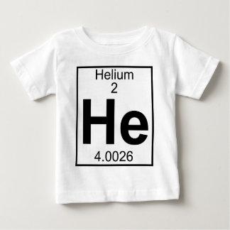 Element 002 - He - Helium (Full) Baby T-Shirt