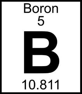 Boron periodic table science accessories zazzle element 005 b boron full trucker hat urtaz Images