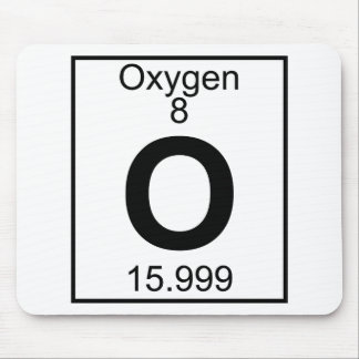 Element 008 - O - Oxygen (Full) Mouse Pad