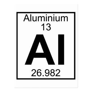 Element 013 - Al - Aluminium (Full) Postcard