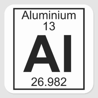 aluminum the 13th element on the periodic table essay Dmitri ivanovich mendeleev  mendeleev published his periodic table of all known elements and predicted several new elements to  in 1894, dmitri mendeleev,.