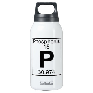 Element 015 - P - Phosphorus (Full) 10 Oz Insulated SIGG Thermos Water Bottle
