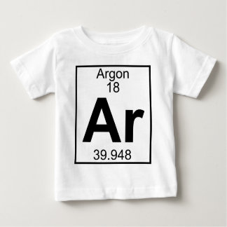 Element 018 - Ar - Argon (Full) Baby T-Shirt