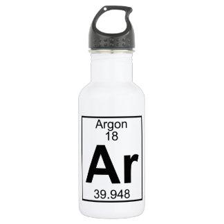 Element 018 - Ar - Argon (Full) 18oz Water Bottle