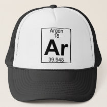 Element 018 - Ar - Argon (Full) Trucker Hat