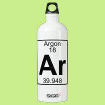 Element 018 - Ar - Argon (Full) Water Bottle