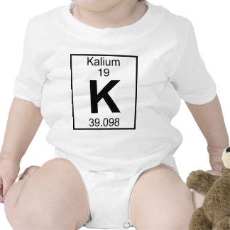 Element 019 - K - Kalium (Full) Baby Bodysuits
