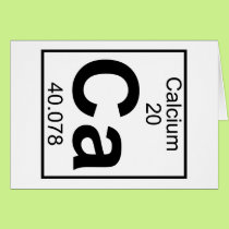 Element 020 - Ca - Calcium (Full) Card